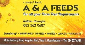 A & A Feeds
