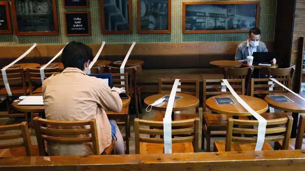 Restaurant lockdown level 3